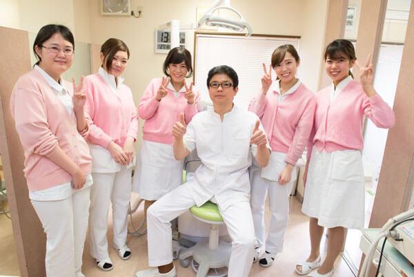 おいかわ歯科クリニックでは、私たちと一緒に働く仲間を求めています